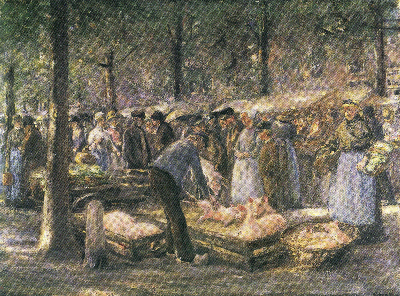 Max Liebermann Schweinemarkt in Haarlem.jpg