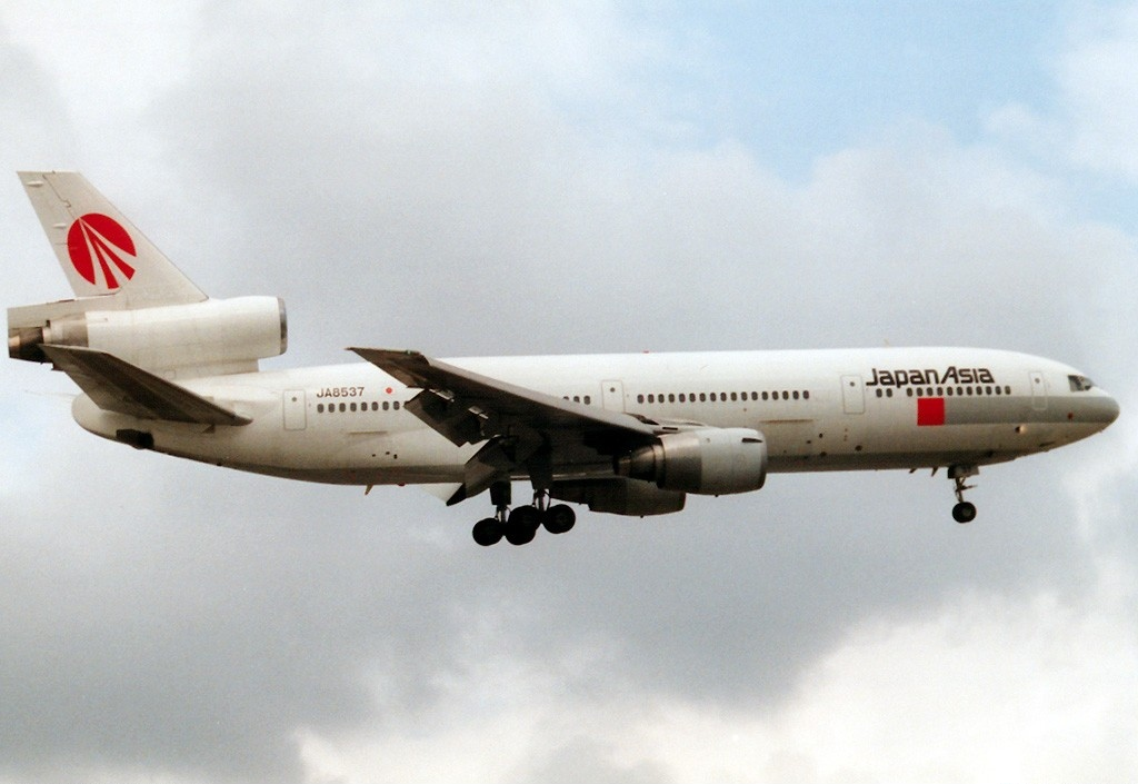 Mcdonnell Douglas Dc D C Japan Asia Airways Jaa An