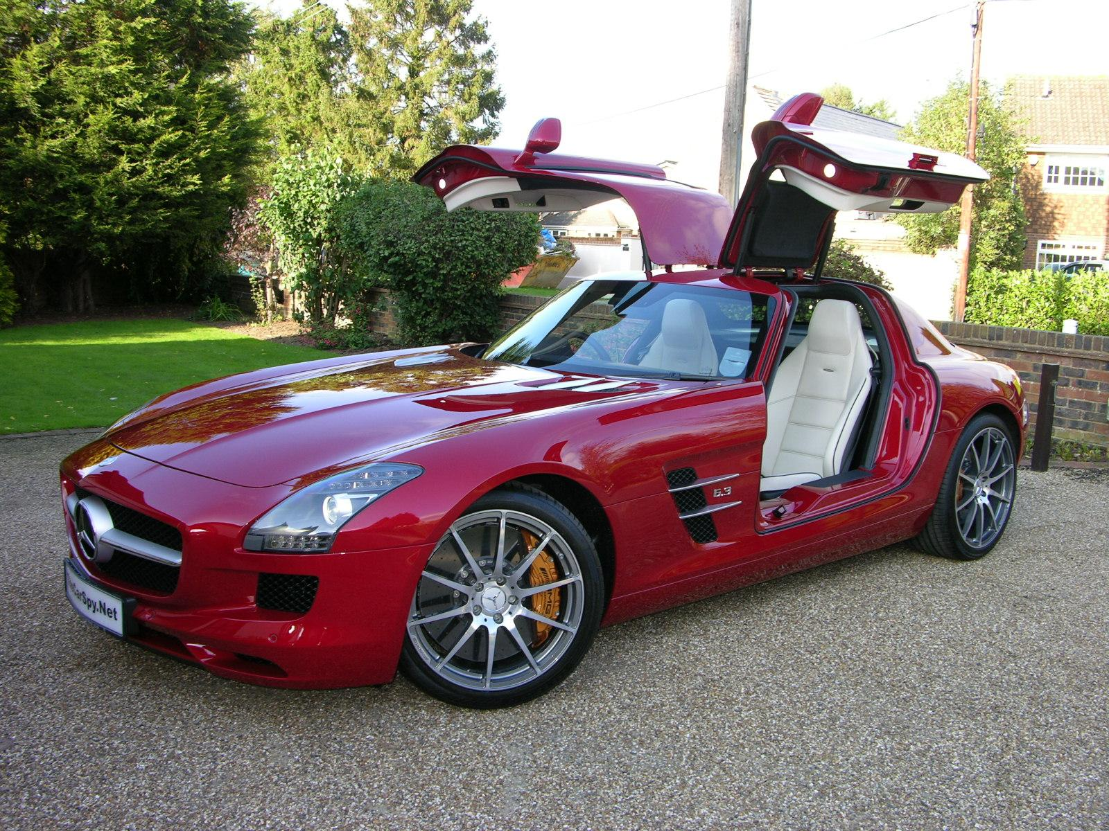 Mercedes SLS AMG to lead the pack as new F1 safety car in 2010 ...