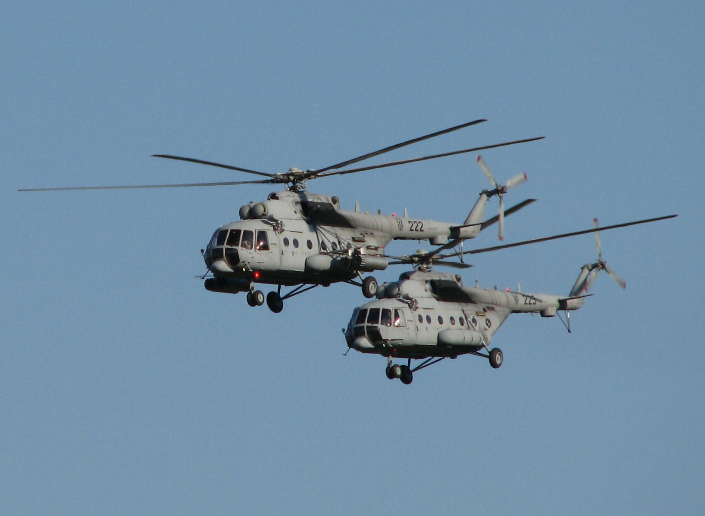 Mi-171Sh Karlovac 2009