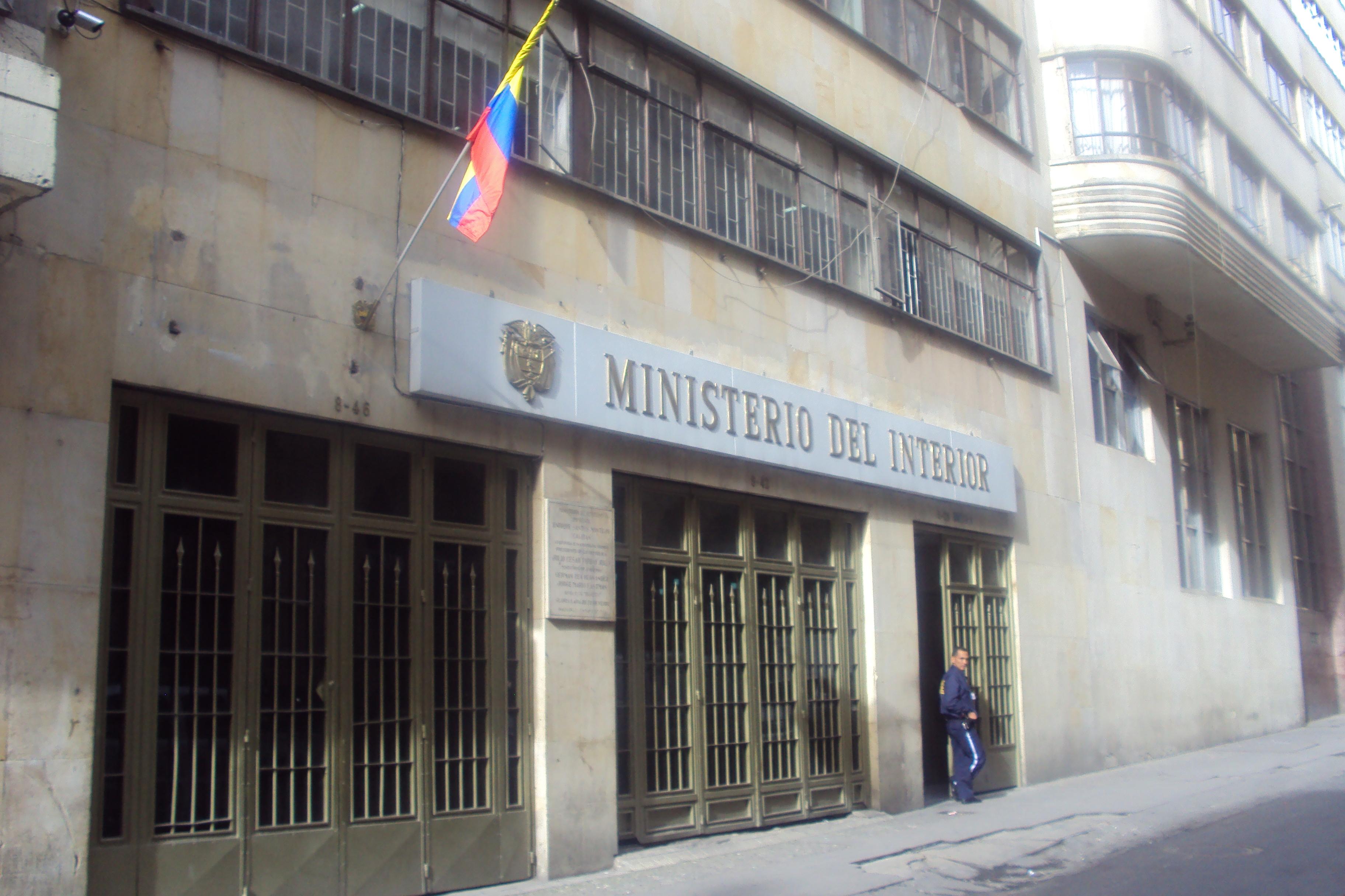 file ministerio del interior de colombia jpg wikimedia