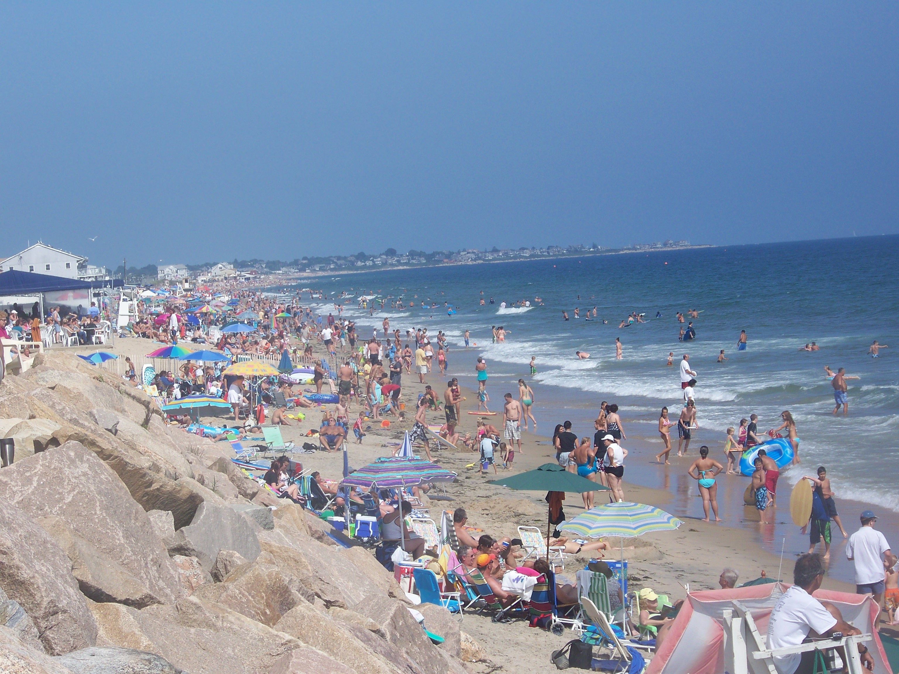 Rhode Island Beaches Electrocutions
