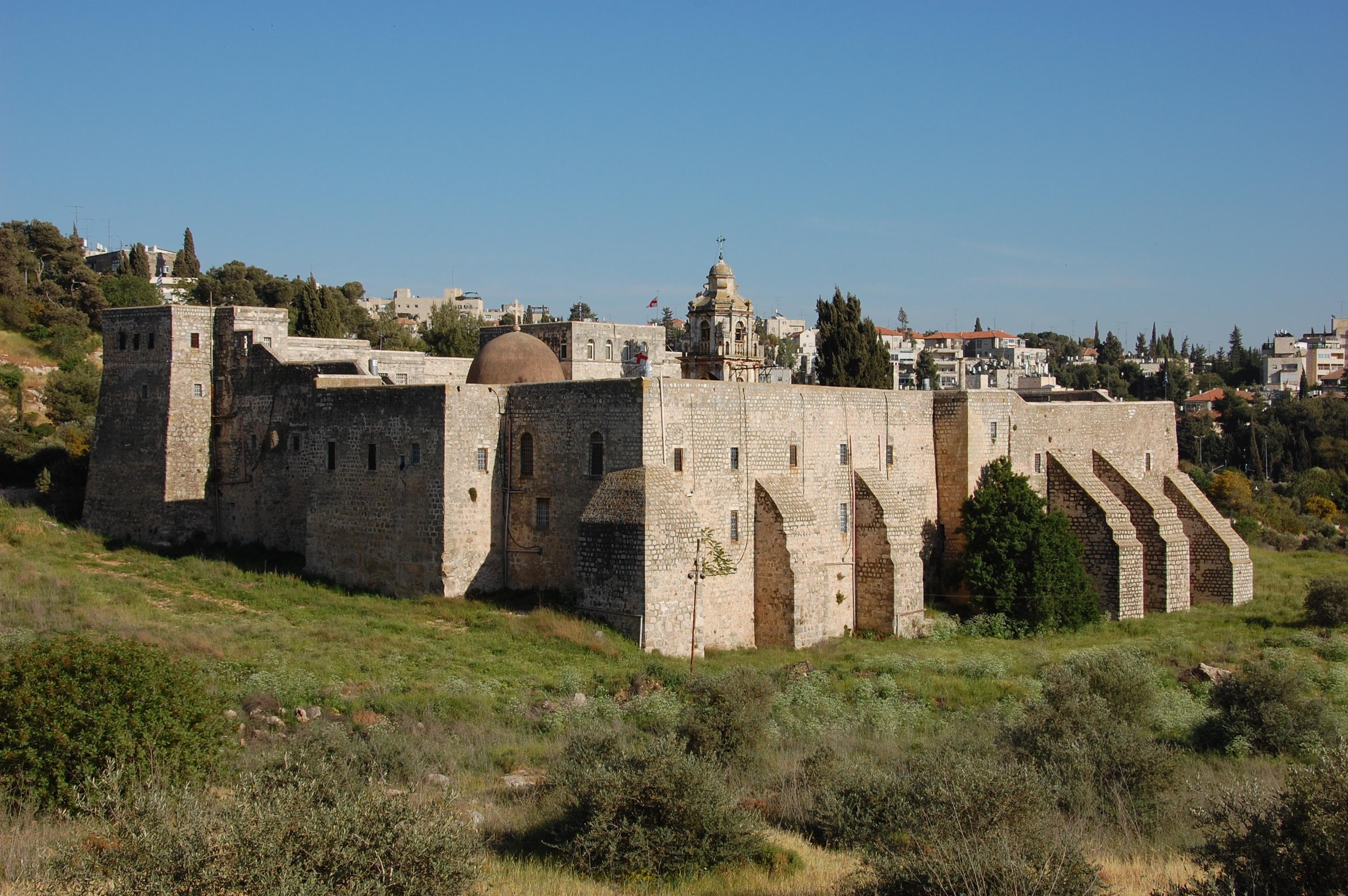 Монастырь святого креста Иерусалим