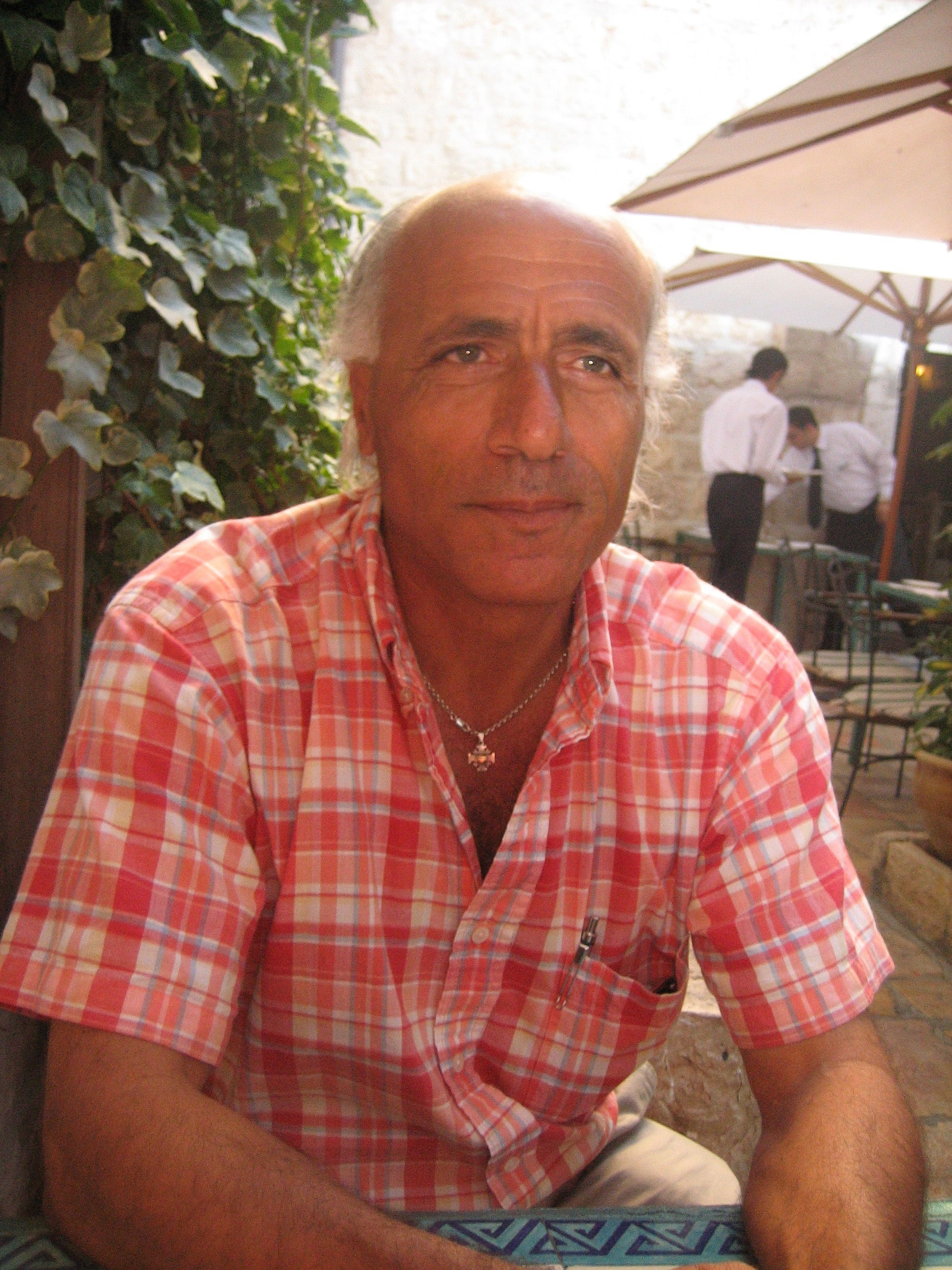 Photo of Mordechai Vanunu