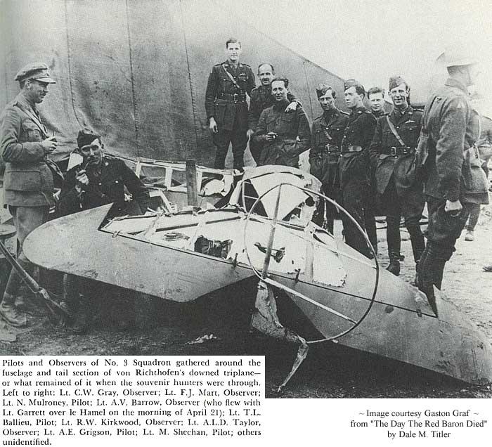 El Baron Rojo, el piloto mas temido de la I guerra mundial