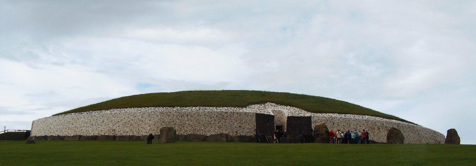 Newgrange Ireland Tomb Entrance