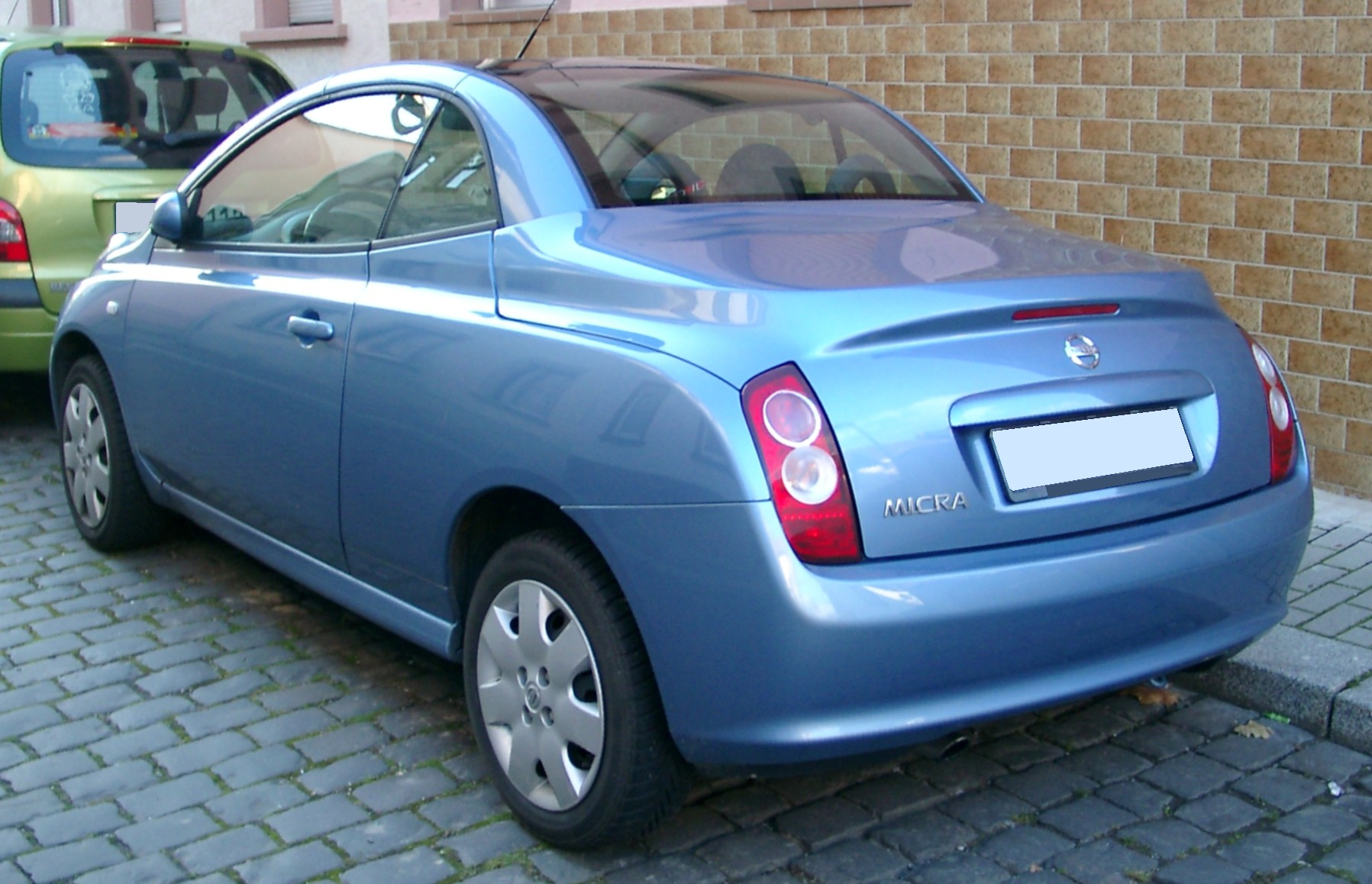 File Nissan Micra Rear 20071114 Jpg Wikimedia Commons