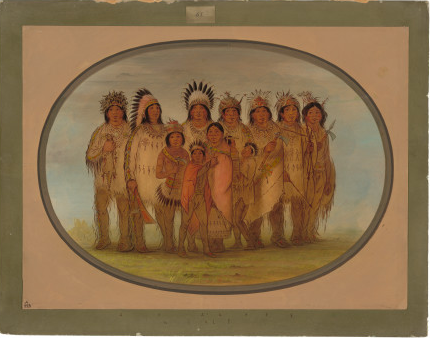 Ojibbeway Indians in Paris