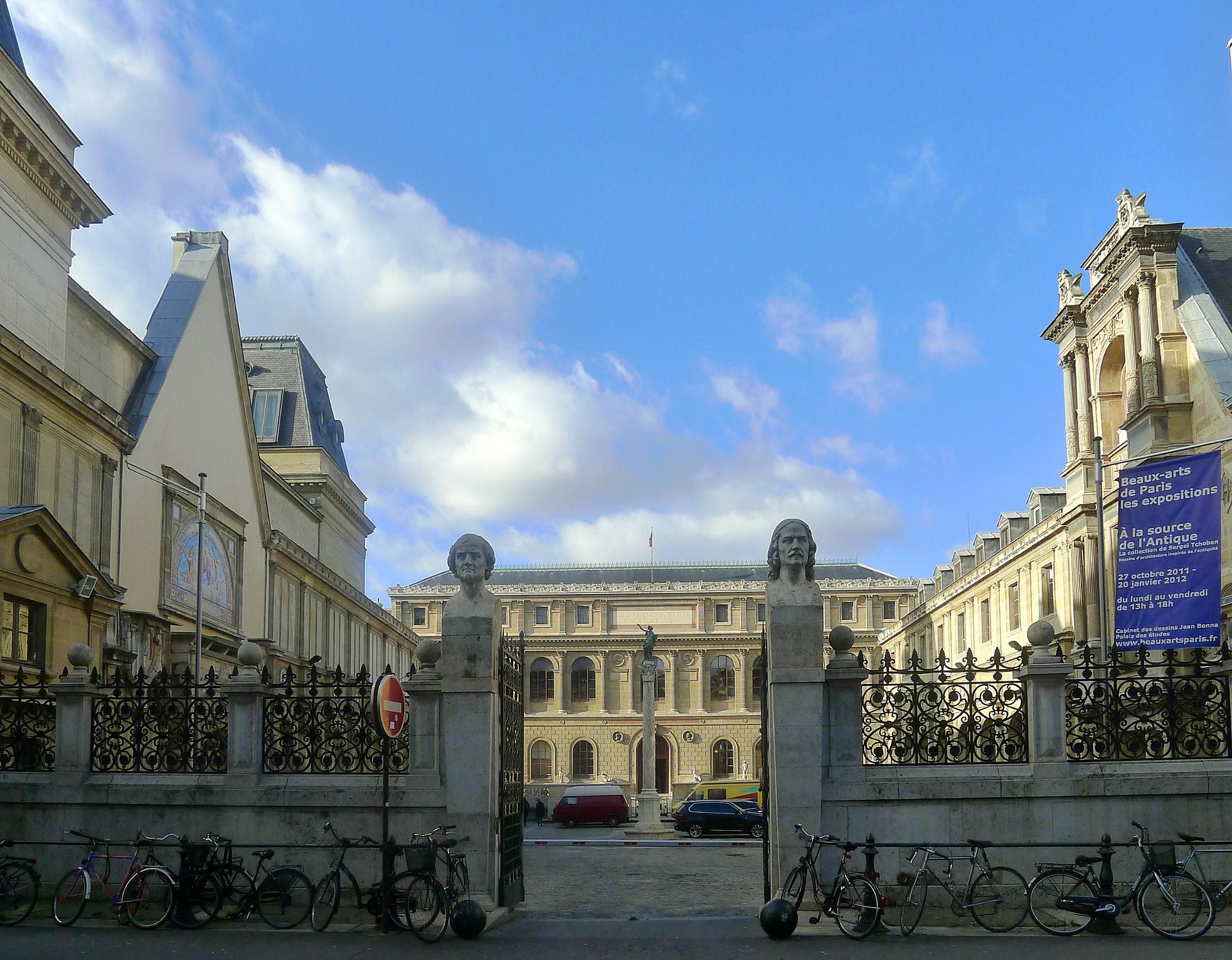 File p1070494 paris vi cole nationale sup rieure des beaux arts rwk jpg wikimedia commons - Ecole des beaux arts paris ...