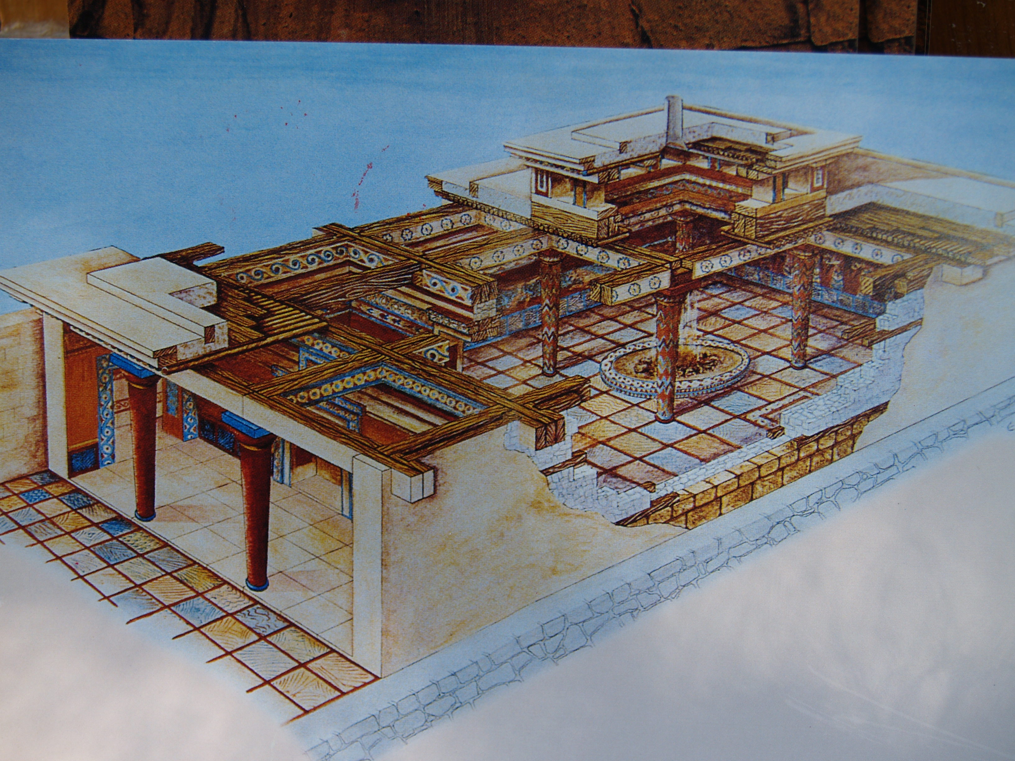 knossos palace and mycenaean citadel essay Let us write you a custom essay sample on  the new palace at knossos was carefully planned  the most important element in the mycenaean palace plan was the.