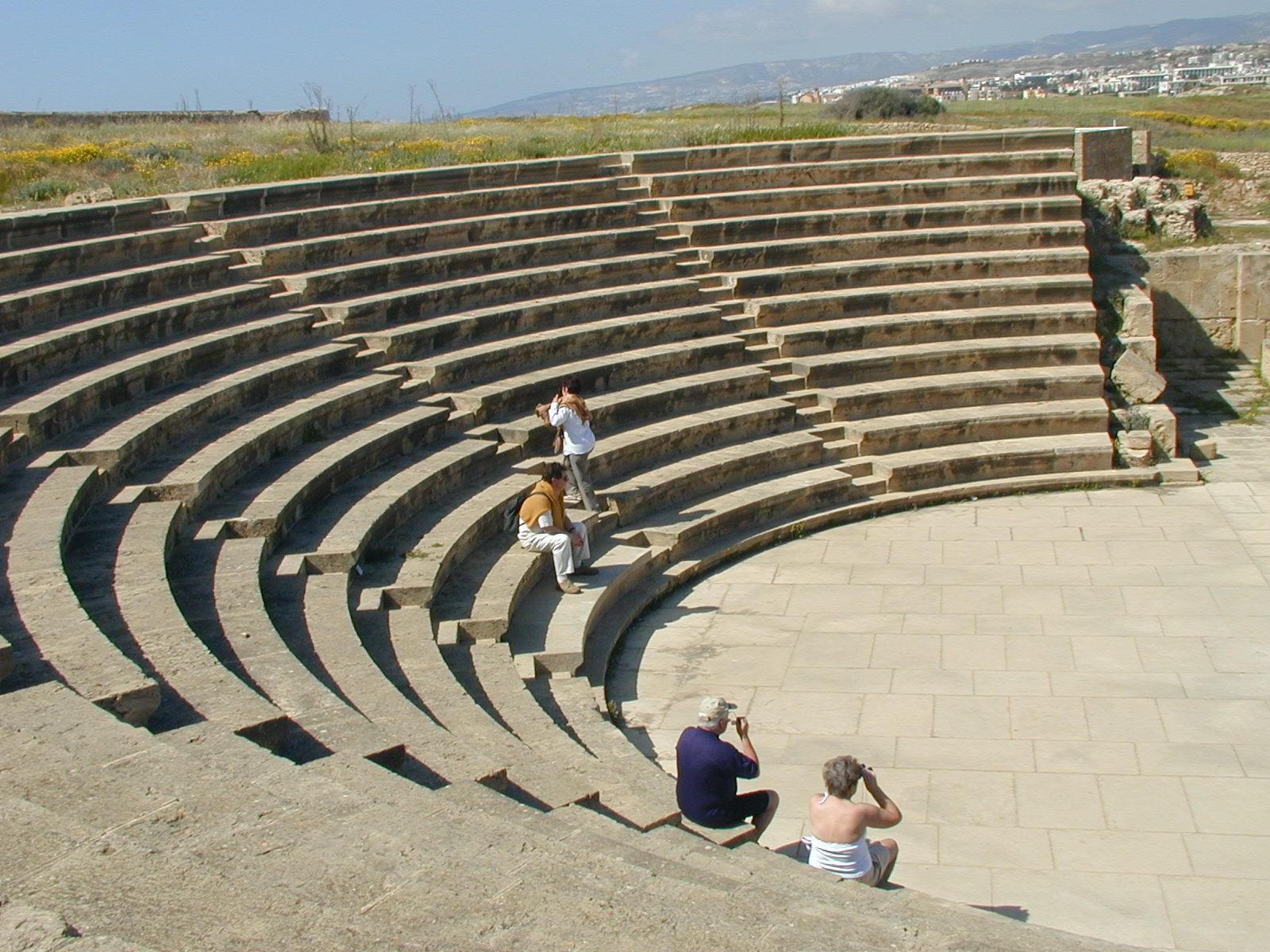 Floor Plan Design Template File Paphos Amphitheatre Jpg Wikimedia Commons