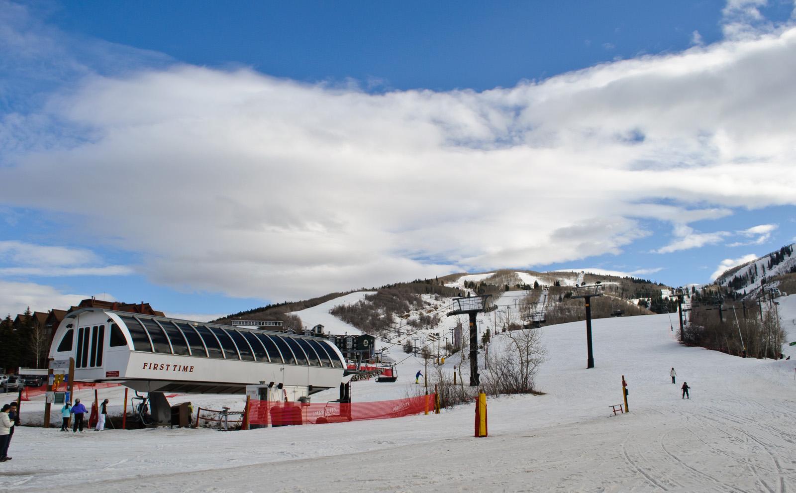 Salt Lake Park City Ski Resort