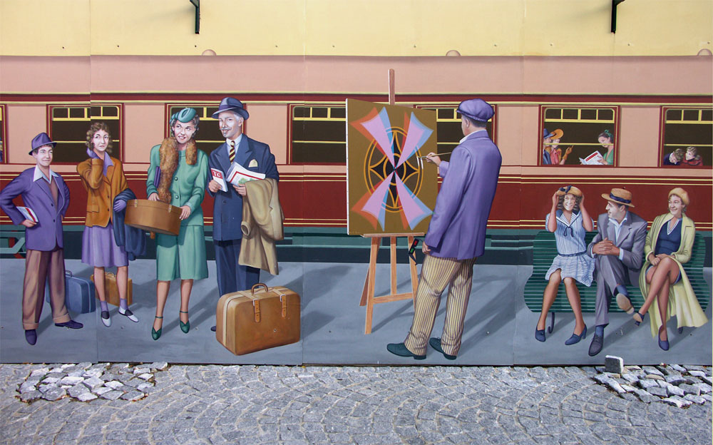 File:Peinture murale, Tir Groupé 4.jpg - Wikimedia Commons