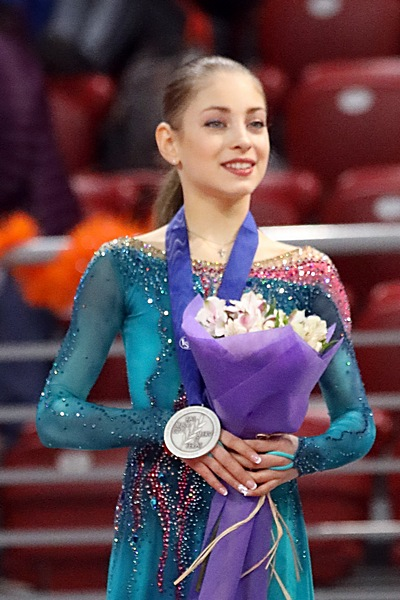 Alena Kostornaia had scored three times above 192 points and once above 204 points. She had scored four times above 67 points and twice above 71 points in the short program. She had scored twice above 128 points and once above 132 points in free skating.