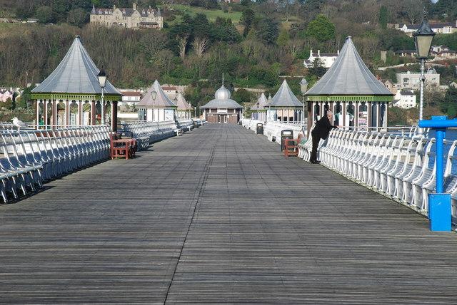Pier y Garth Bangor Garth Pier - geograph.org.uk - 680447