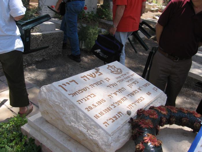 קברו של משה דין