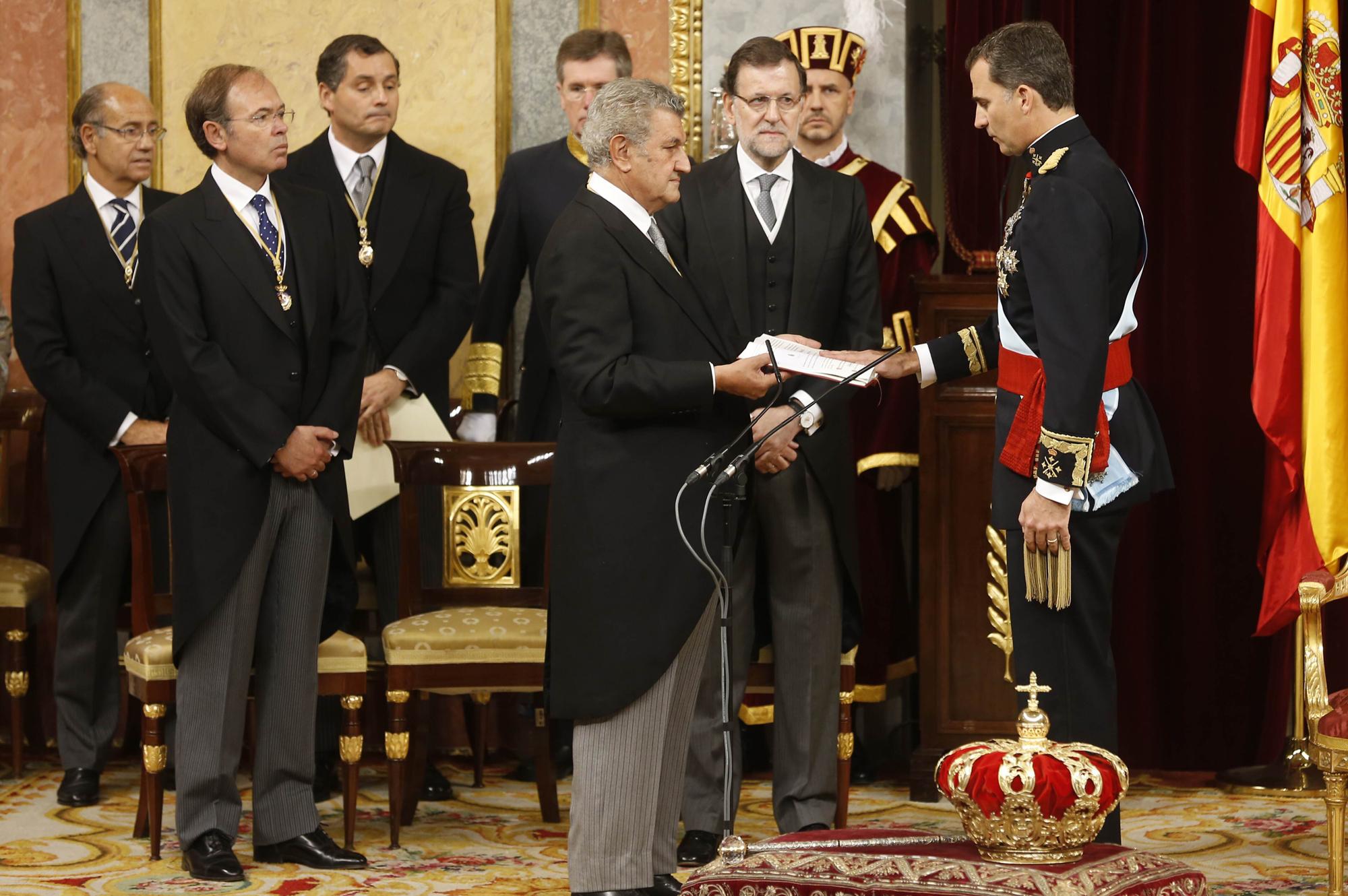 Proclamación de Felipe VI - Wikipedia, la enciclopedia libre