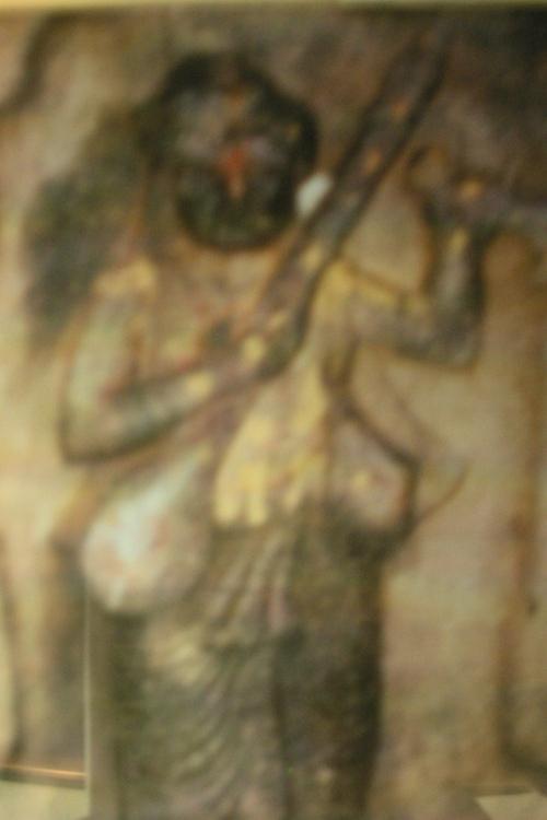 A statue of Purandara Daasa - Foremost Composer