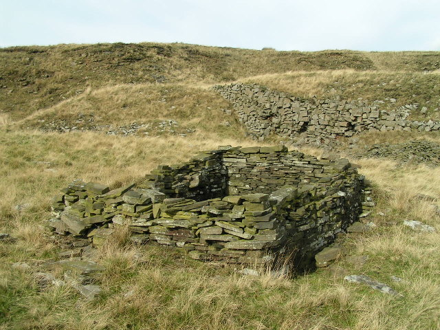 Quarryman's hut, Cracken Edge - geograph.org.uk - 63156