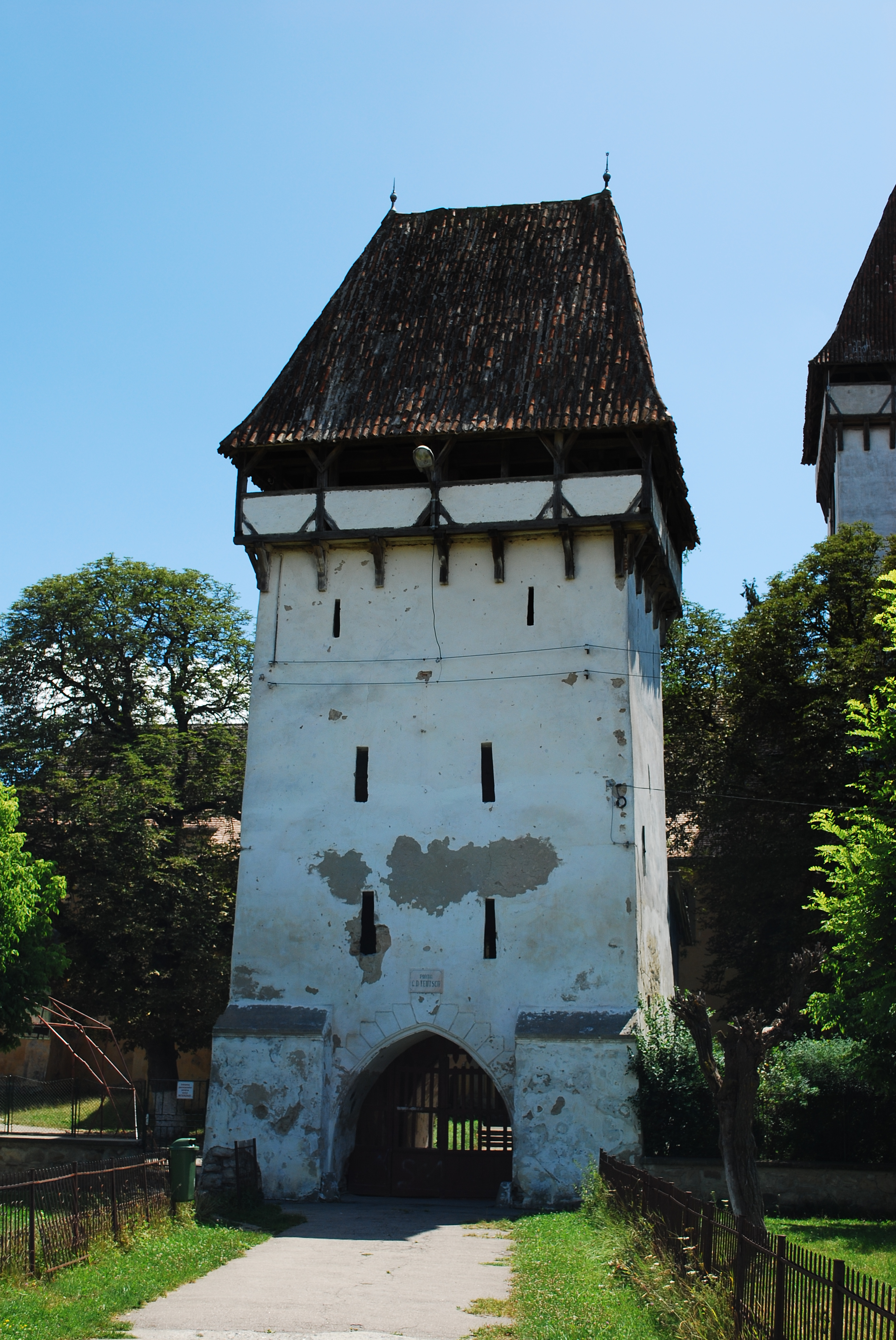 File Ro Sb Agnita Fortified Church Gate Jpg Wikimedia Commons