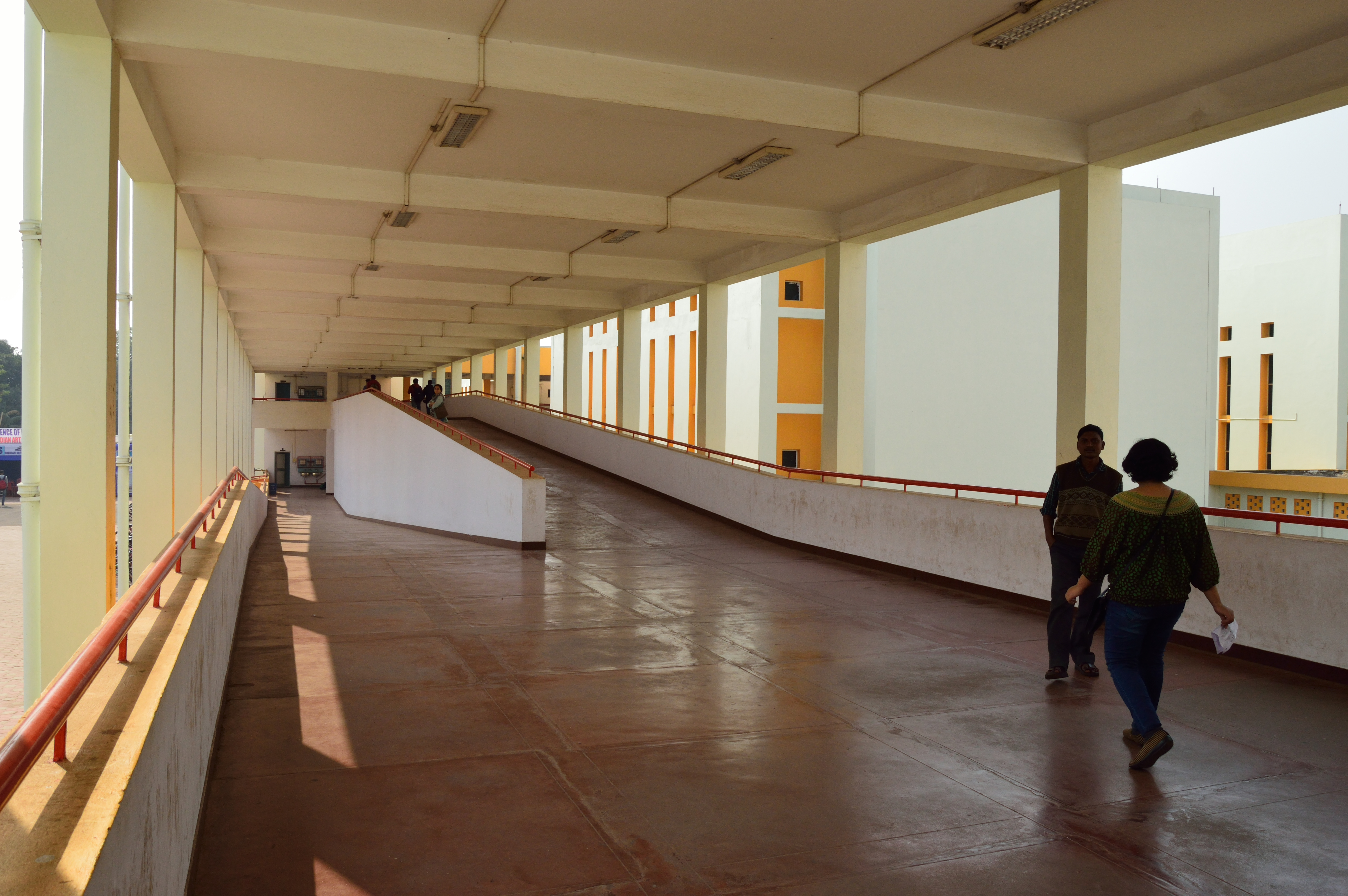 Indian institute of technology kharagpur - File Ramps Vikramshila Building Srinivasa Ramanujan Complex Indian Institute Of Technology