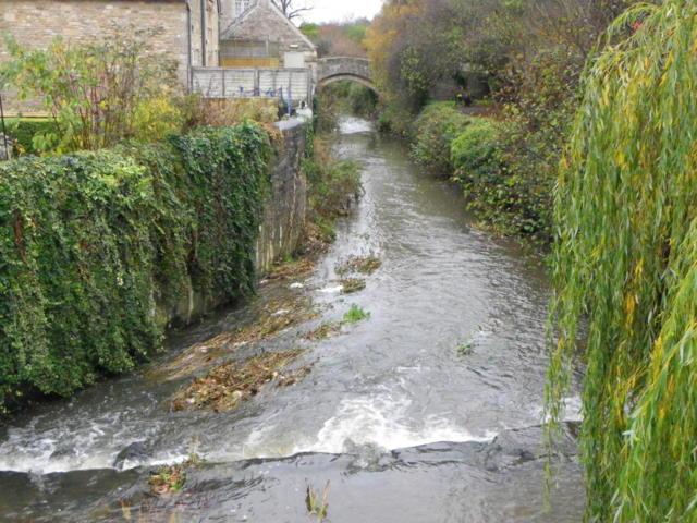 River Brue, Bruton (geograph 2156985)