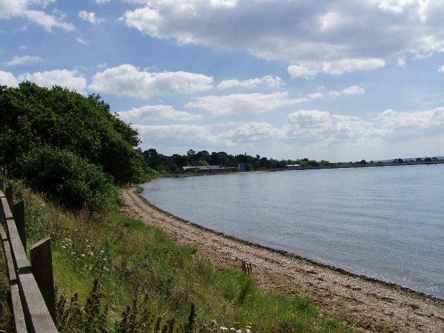 River Hamble taken from Solent way - geograph.org.uk - 34513