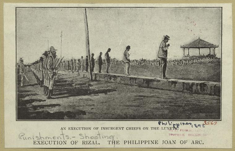 the execution of dr rizal script The film was told in flashbacks of jose rizal's life as he awaits execution in a manila prisonaccused of treason,rizal meets with his government-appointed counsel, luis taviel de andradethe two build the case and arguments for the defense as significant events in the central figure's life prior to his incarceration unfold.