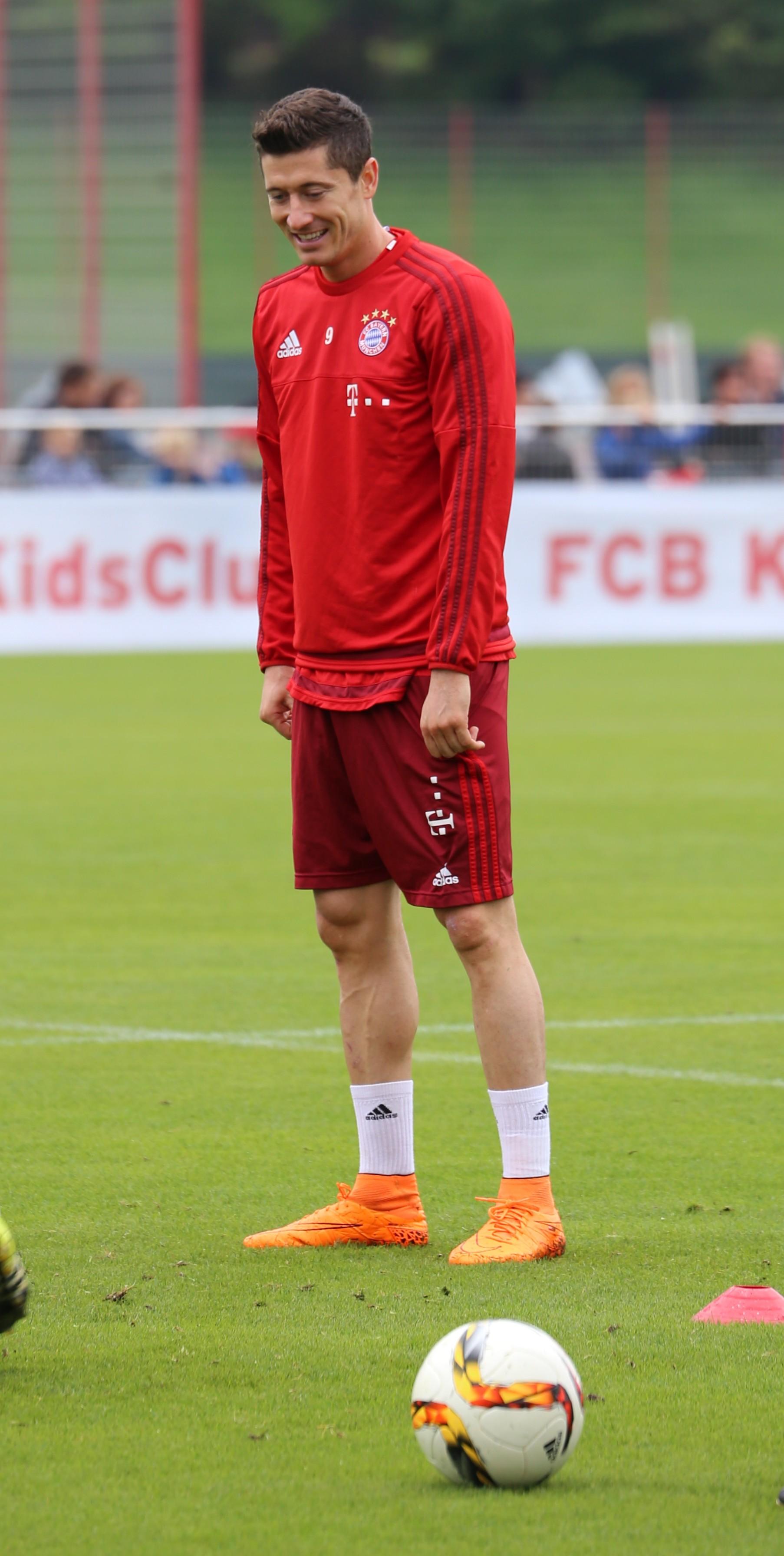 Lewandowski Training
