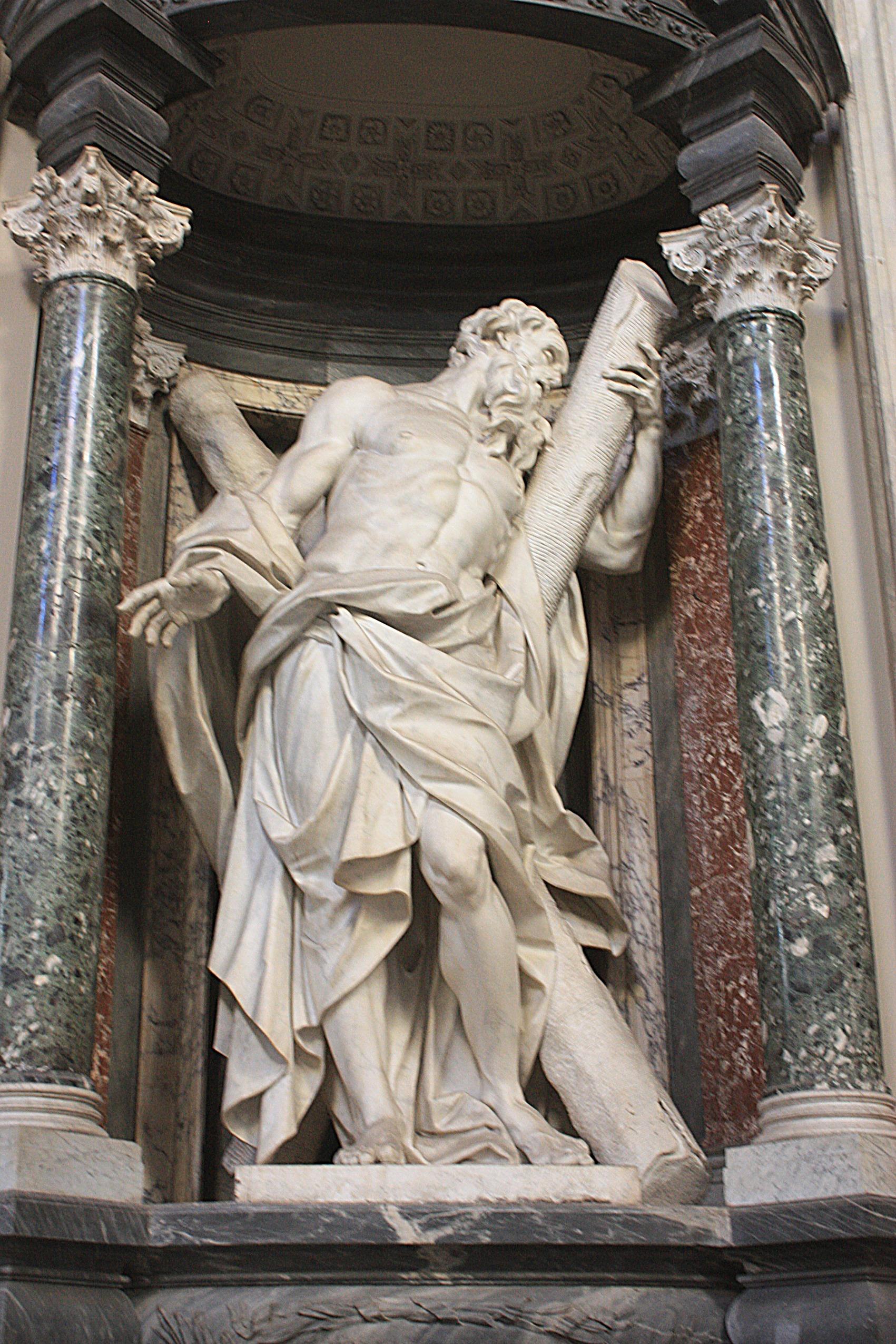 file rom  san giovanni in laterano  statue von andreas