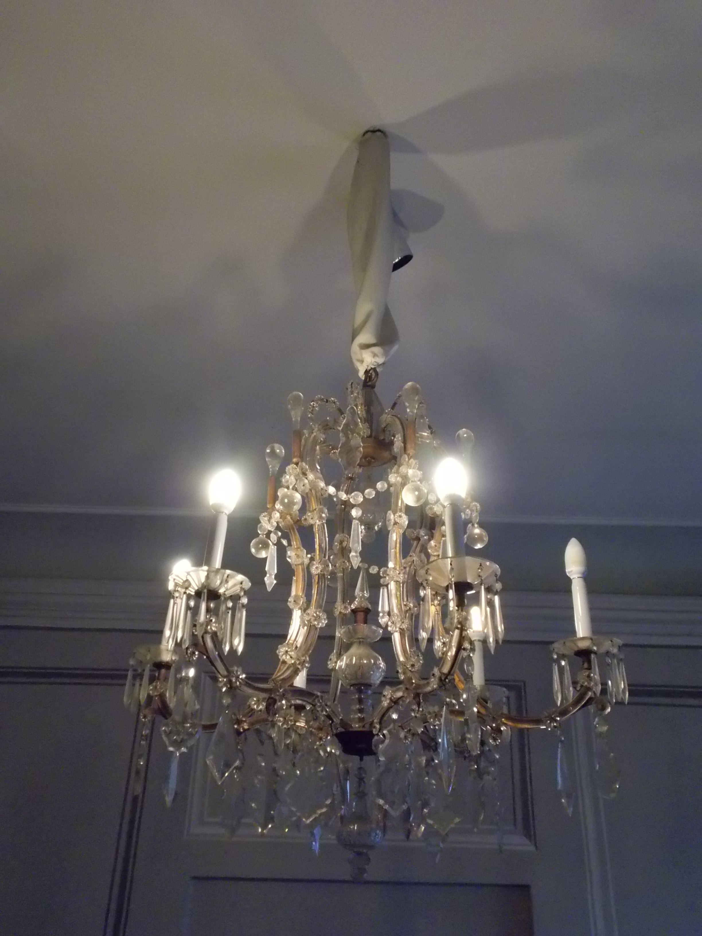 File Rudnyánszky mansion R 21 Rococo chandelier 19th c