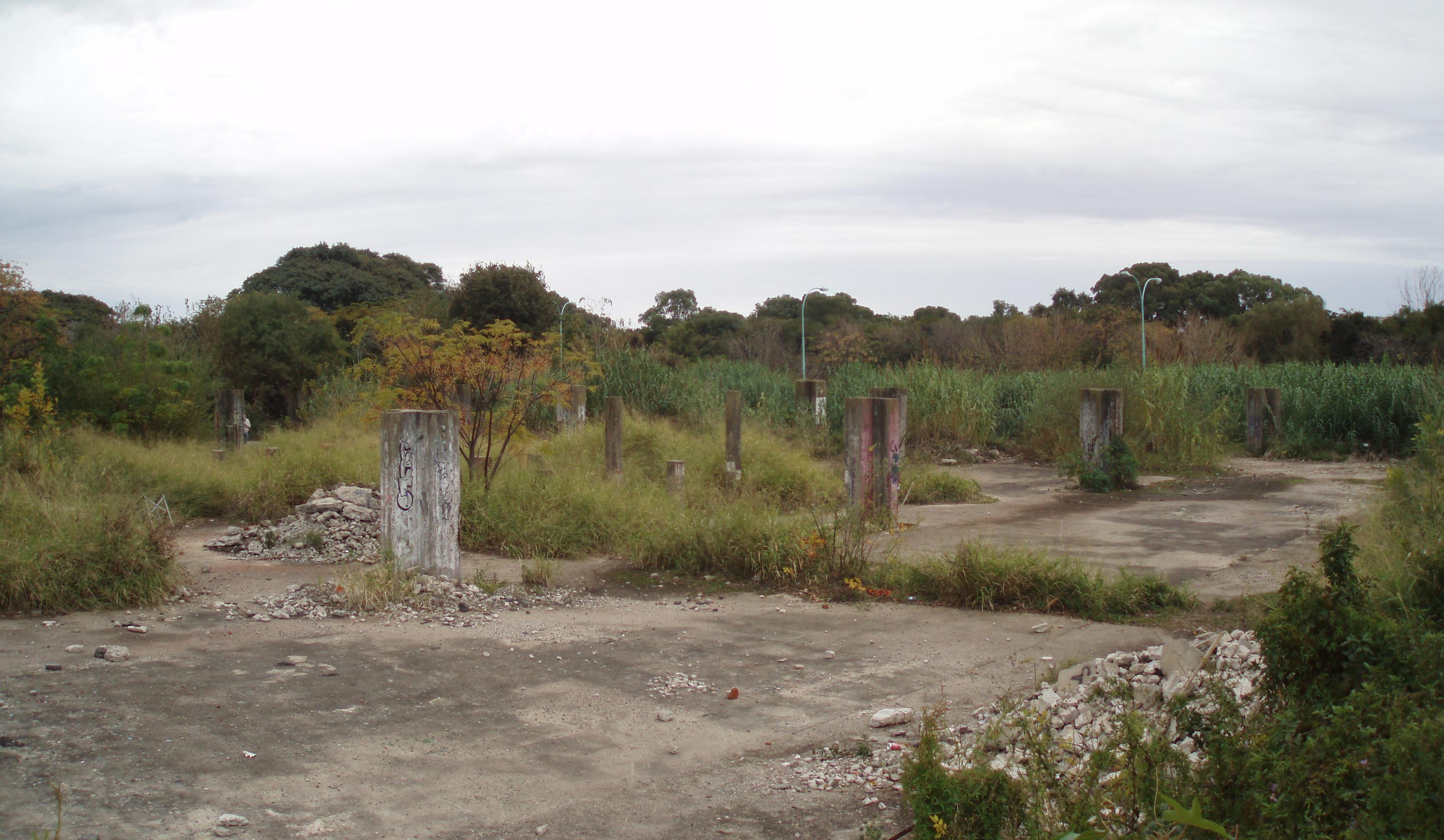 Ruinas del Pabellon 4 en Buenos Aires