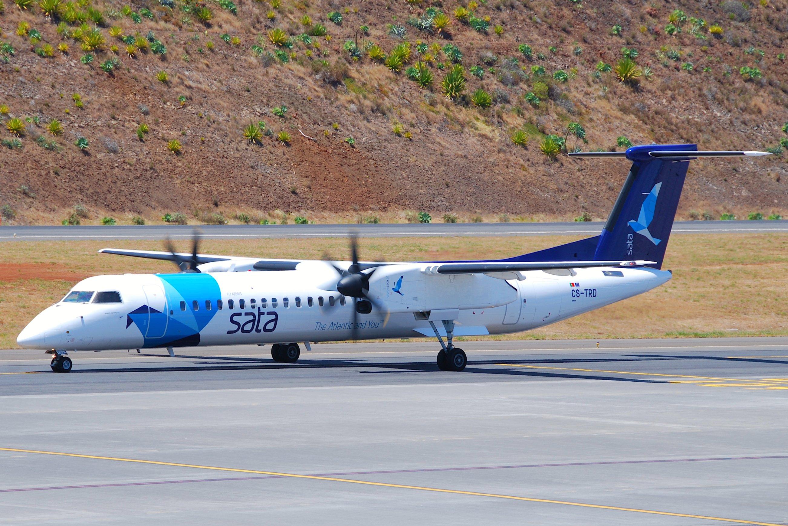 Airline Sata Air Akores (SATA Air Acores). Official sayt.2