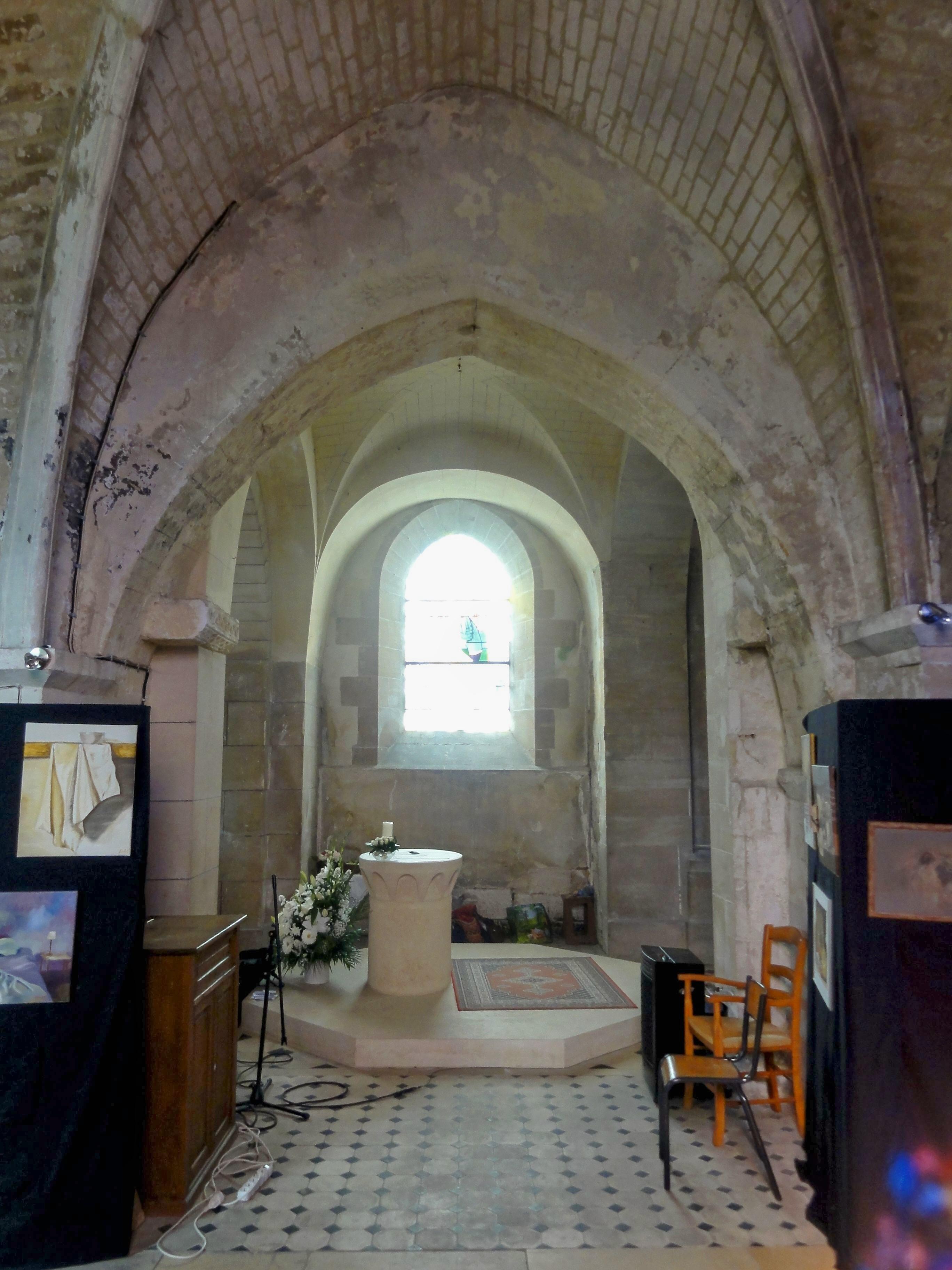 fichier saint maximin 60 glise st maximin 2e chapelle sud vue sur la crois e du transept. Black Bedroom Furniture Sets. Home Design Ideas