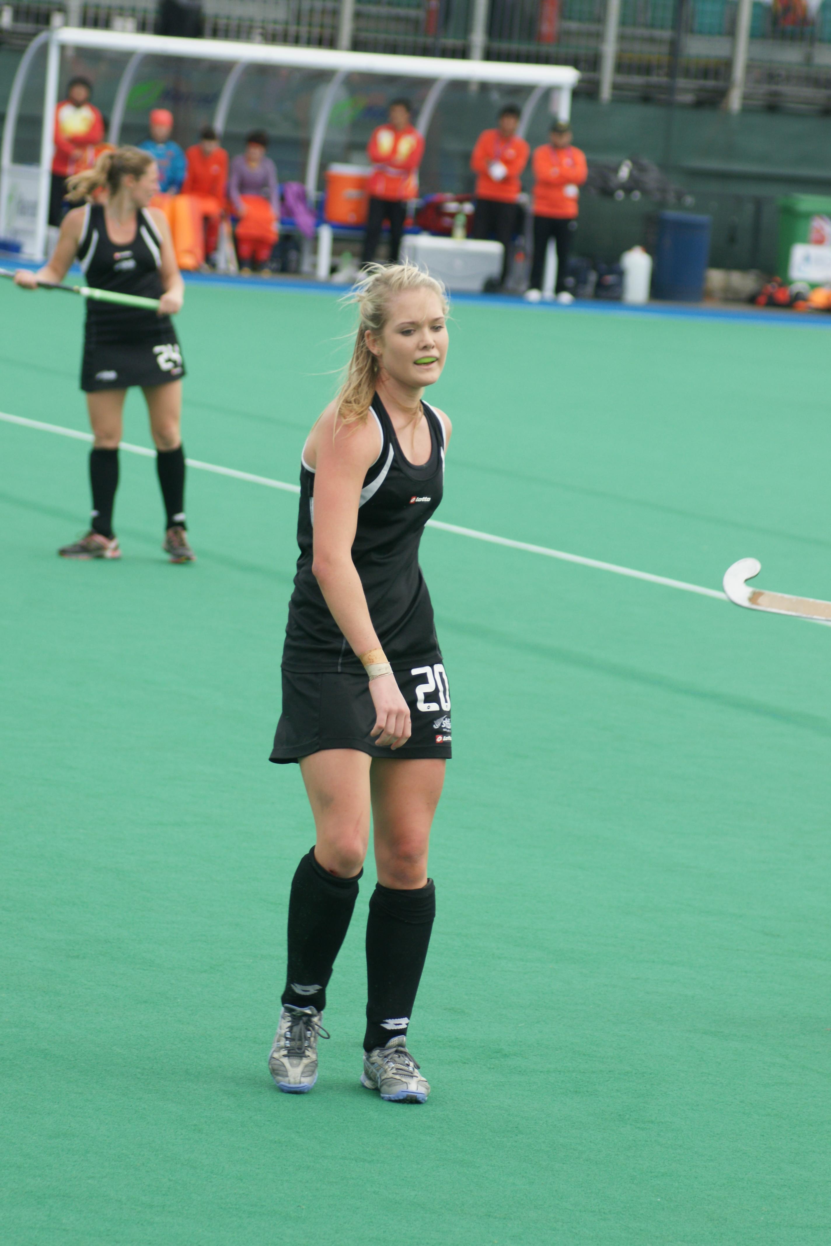 Image result for New Zealand vs China Women's hockey