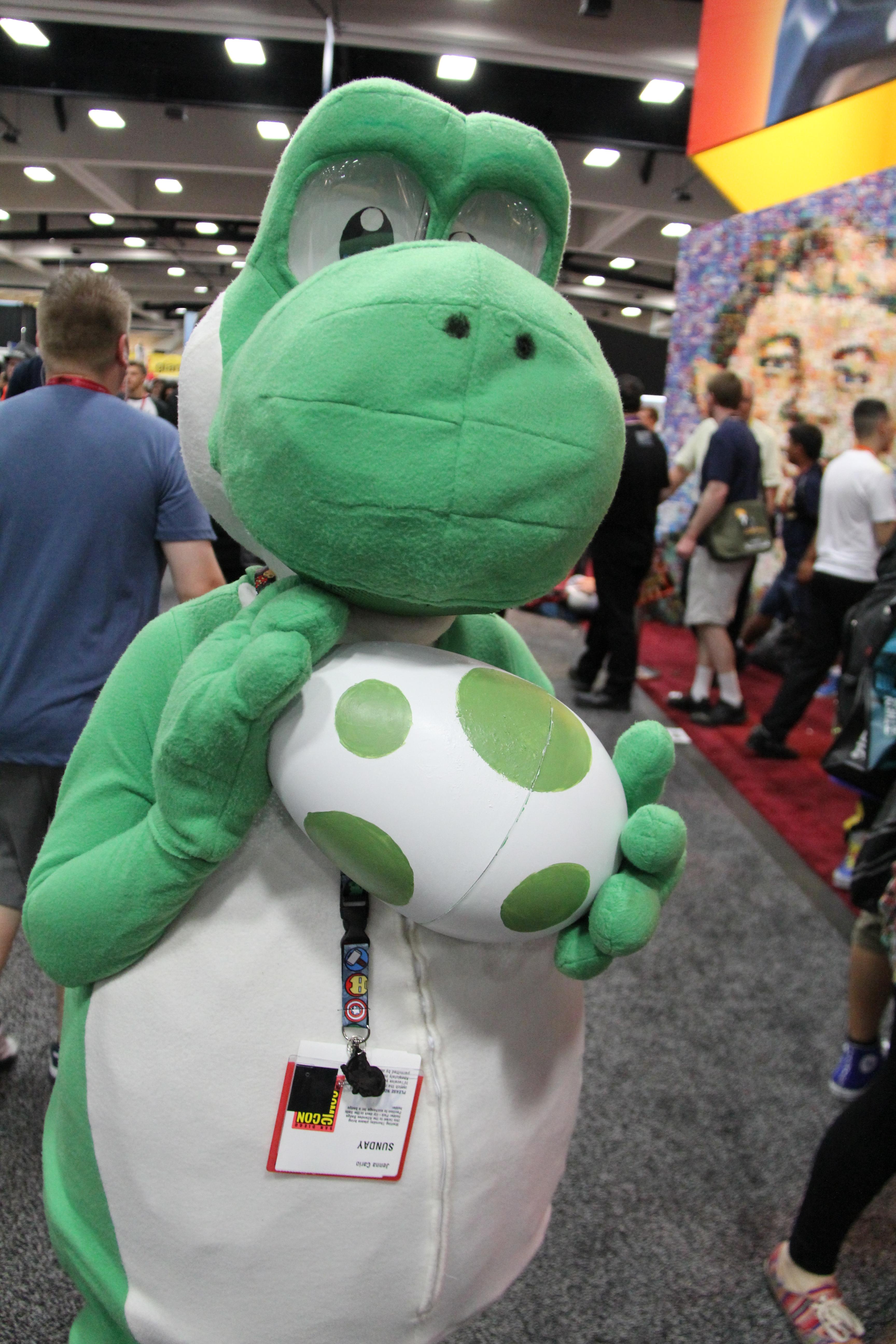 File San Diego Comic Con 2014 Yoshi 14769237294 Jpg Wikimedia