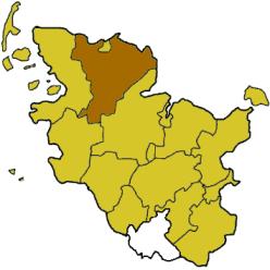 Kreis Schleswig-Flensburg i Schleswig-Holstein