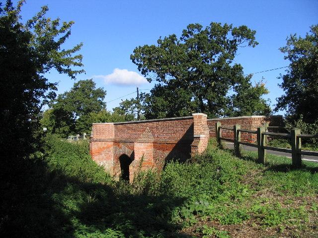 Stock Lane Bridge, Ingatestone - geograph.org.uk - 59064