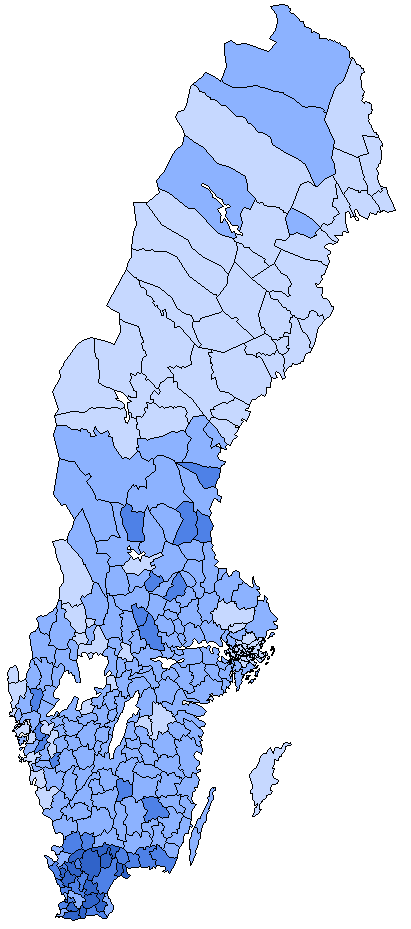 FileSweden Democrats Electionpng Wikimedia Commons - Sweden election map