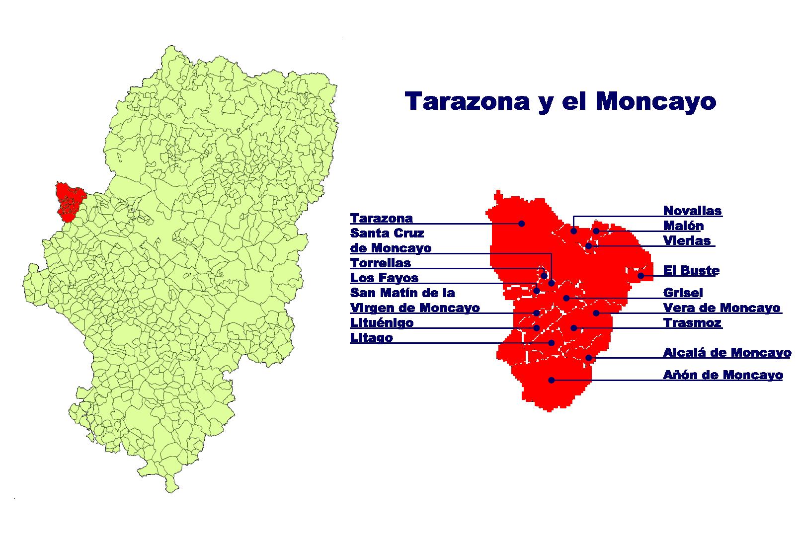 Depiction of Tarazona y el Moncayo