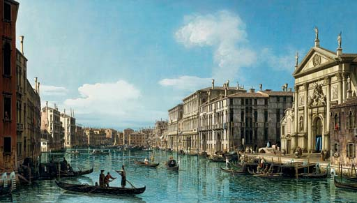 The Grand Canal at the Church of San Stae, Venice, 4892969
