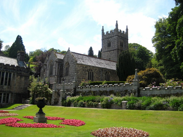 The church of St Hydroc - Lanhydrock - geograph.org.uk - 1351006