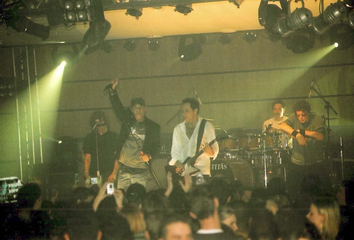 Presentación de la banda Foz de Iguazú, en 2006.