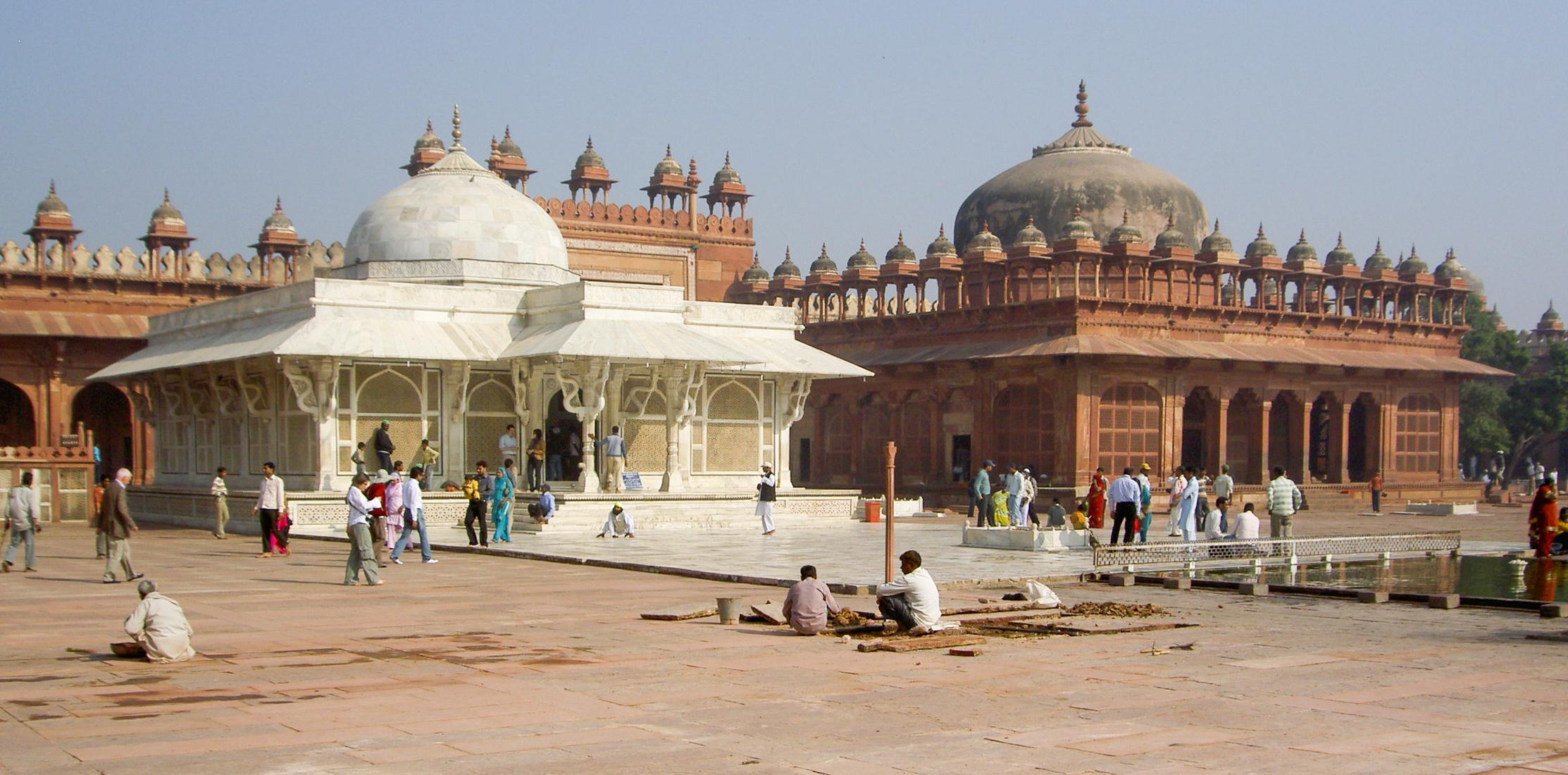 Image result for fatehpur sikri tomb of salim chisti