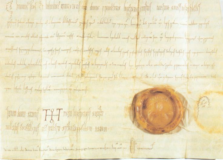 Urkunde Ottos II. an Heinrich d. Zänker 001.jpg