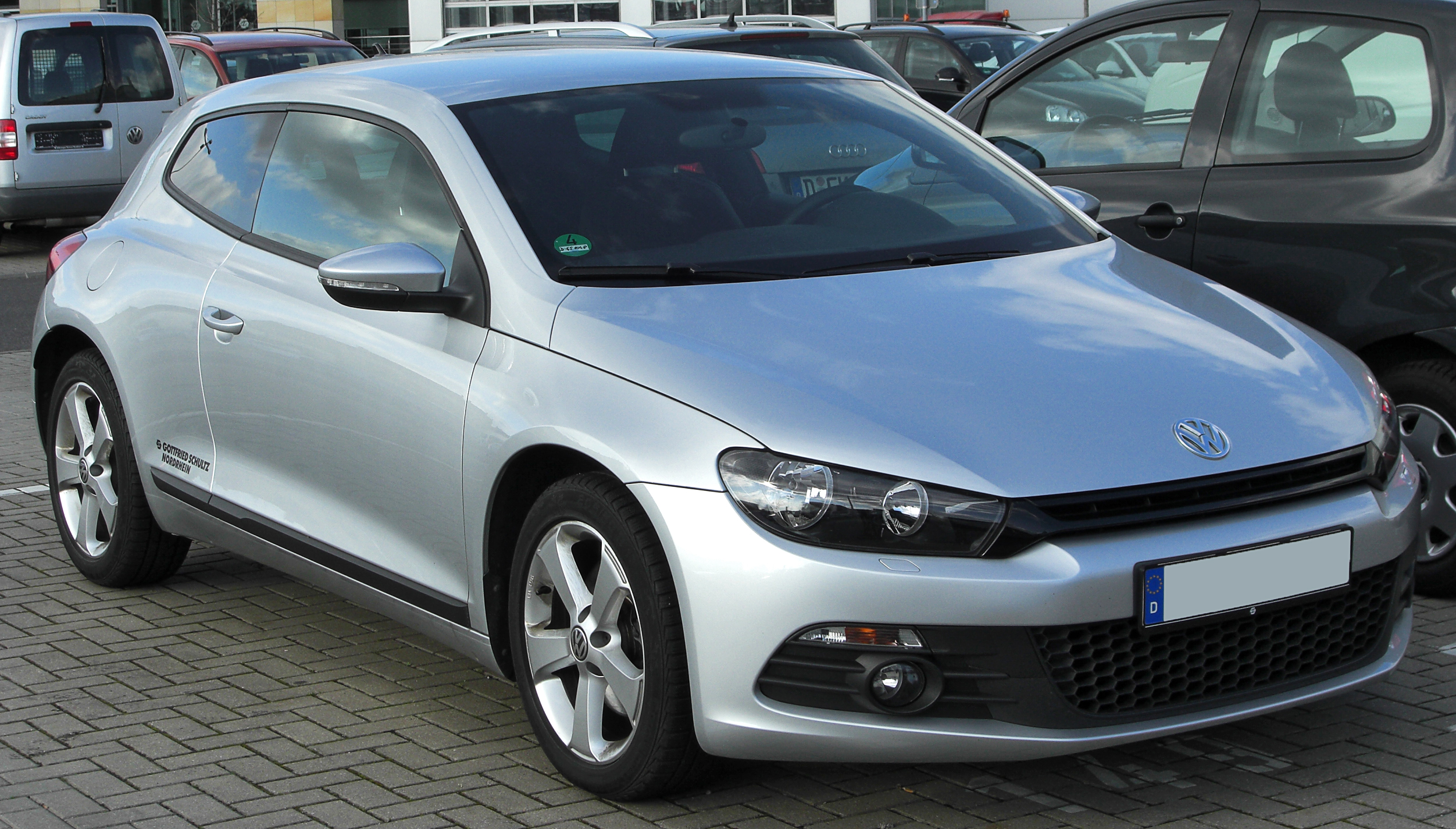 file vw scirocco iii 2 0 tsi front wikipedia. Black Bedroom Furniture Sets. Home Design Ideas