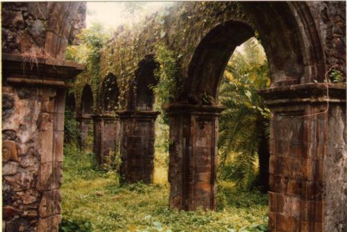 Jardim Botânico Vasai-fort-ruins