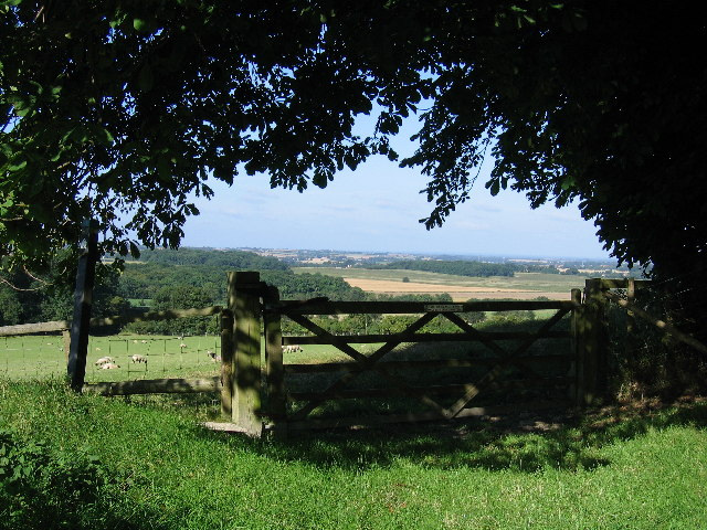 View from bottom of Tolsford hill looking West - geograph.org.uk - 83059