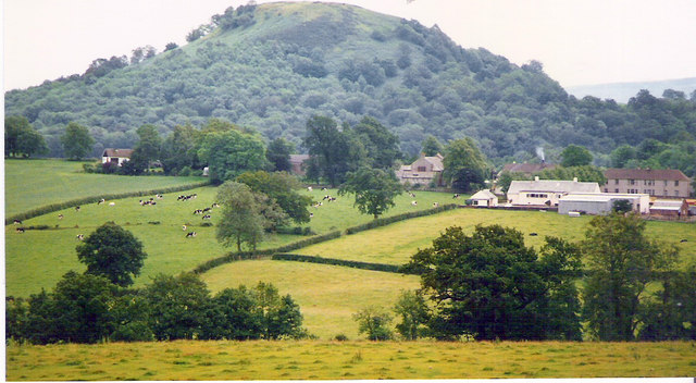 View over Gartocharn to Duncryne Hill
