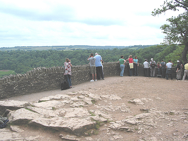 Viewing point at Symonds Rock - geograph.org.uk - 454099